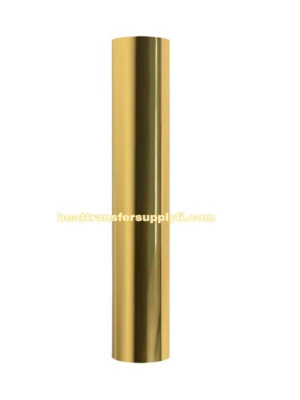 GOLD METALLIC HEAT TRANSFER VINLY