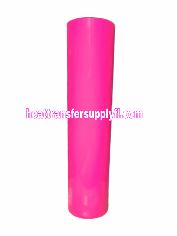 neon pink vinly