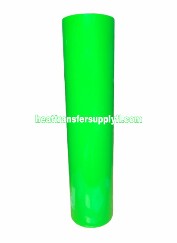 neon green vinyl